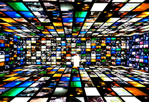 virtual tv screens