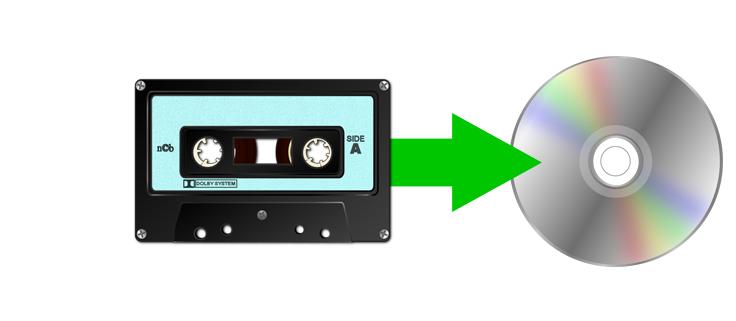 audio cassette to disc