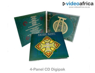 4-Panel CD Digipak