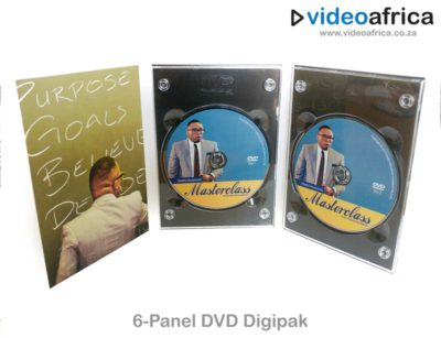 6-Panel DVD Digipak