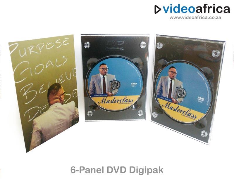 6-Panel DVD Digipak