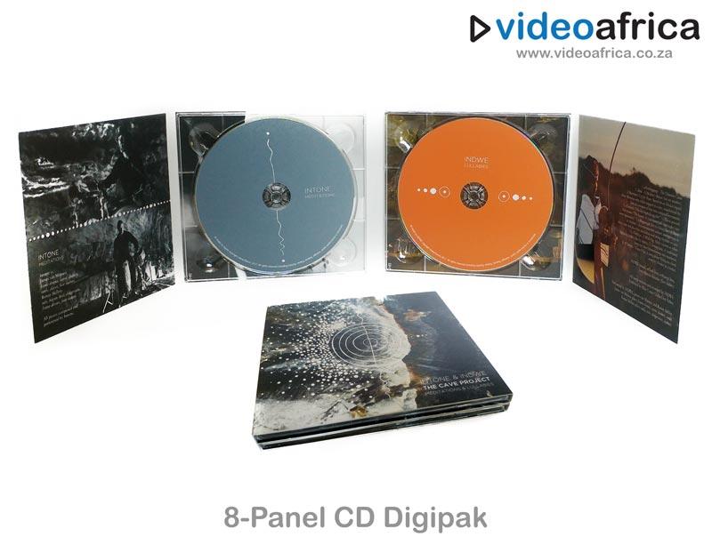 8-Panel CD Digipak