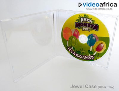 CD Jewel Case with Clear Tray
