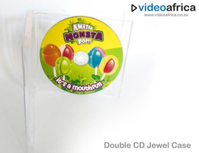 Double CD Jewel Case