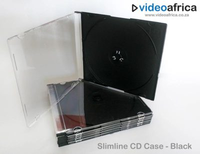 Slimline Jewel Case - Black