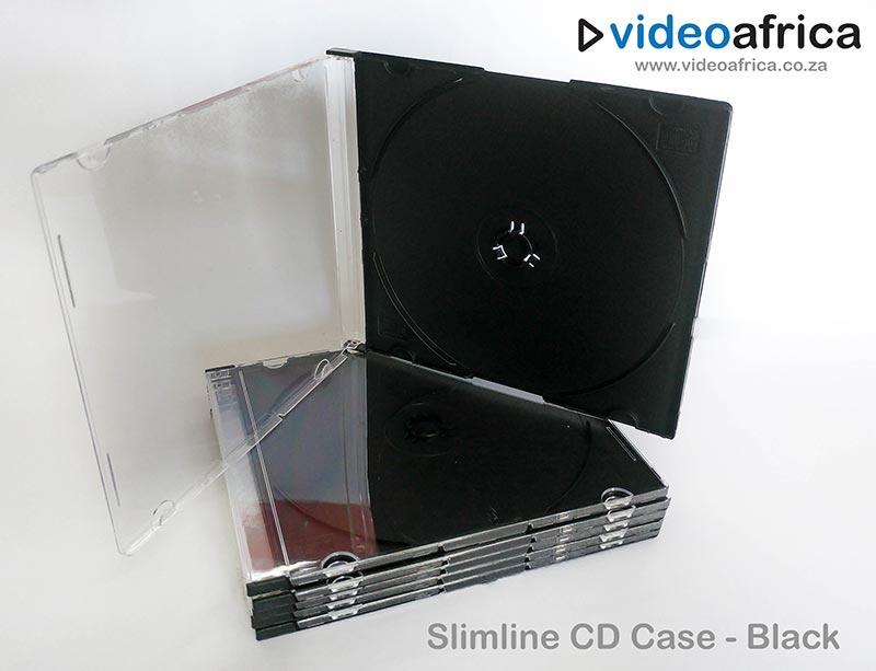 Slimline Jewel Case - Black