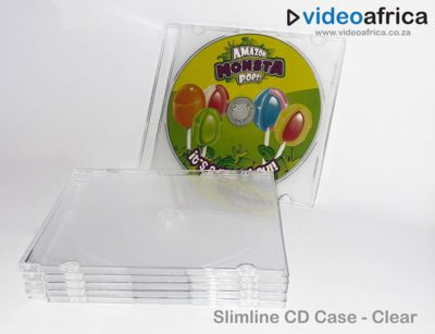 Slimline Jewel Case - Clear Frosted