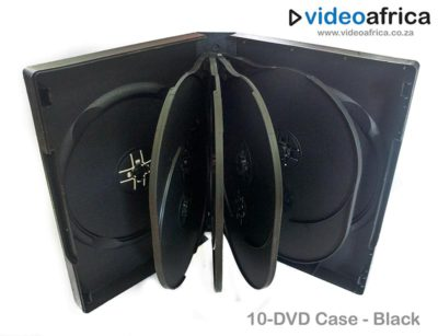 10-Disc DVD Case