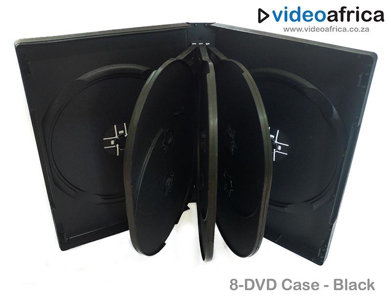 8-Disc DVD Case