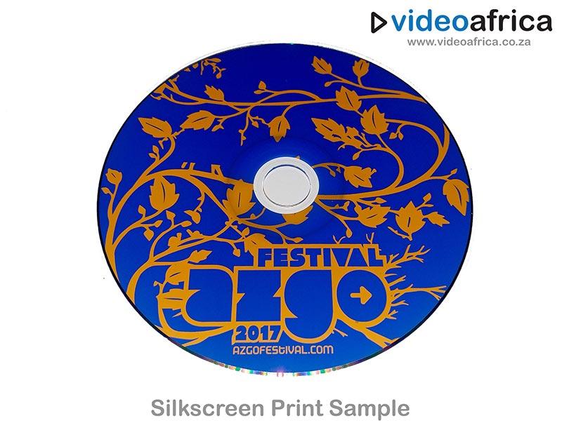 Silkscreen Disc Print Example