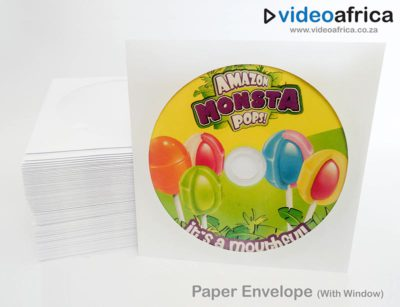 CD/DVD Paper Envelope