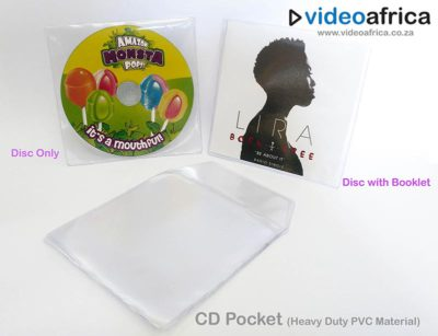 CD/DVD PVC Pocket