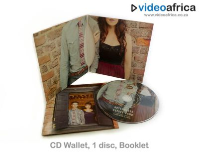 4-Panel Cardboard Wallet with Booklet Insert