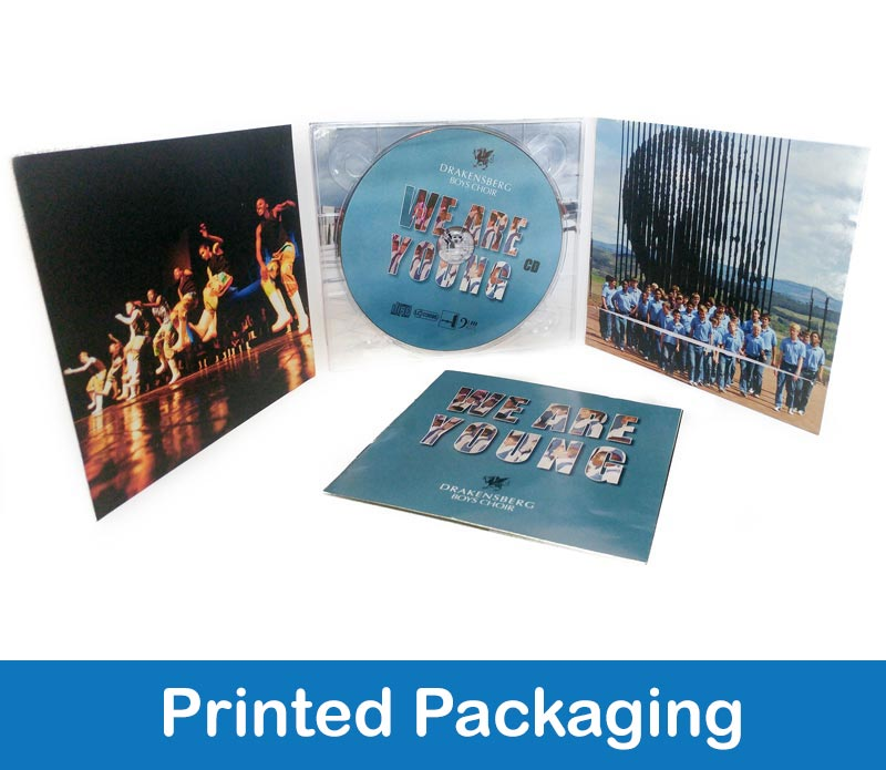 videoafrica printed packaging